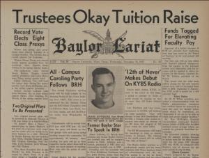 """Trustees Okay Tuition Raise"""