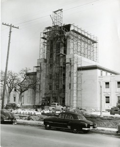 A revised structure rises (Courtesy of wacohistory.org)