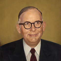 President W.R. White Courtesy of Baylor Libraries