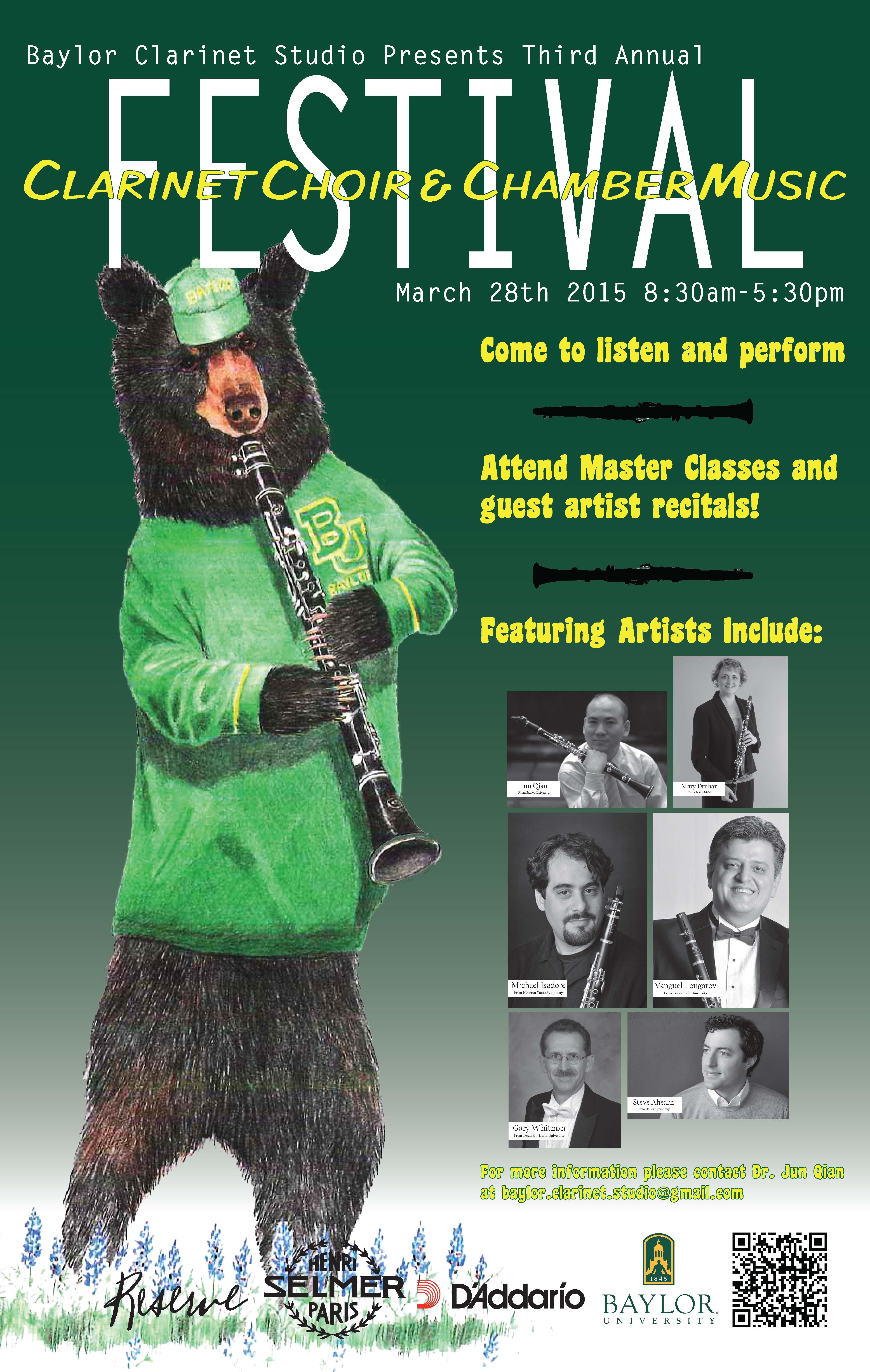 Clarinet Festival Baylor online