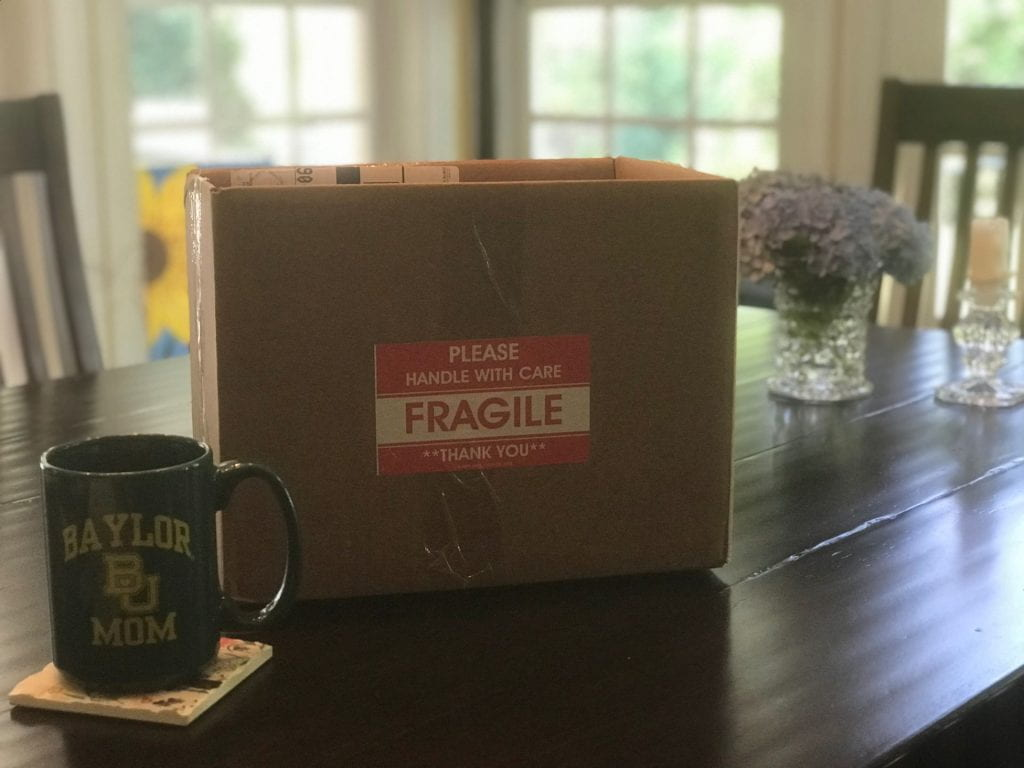 """Handle with Care--FRAGILE"""