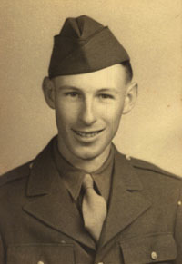 In 1943, Mr. Kirkpatrick joins the Army.