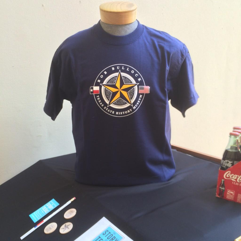A souvenir t-shirt from the museum.