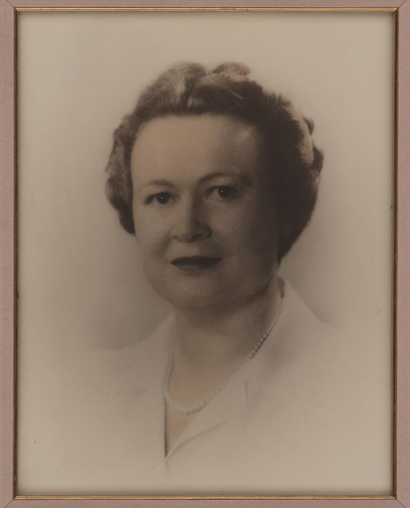 Portrait of Frances Poage