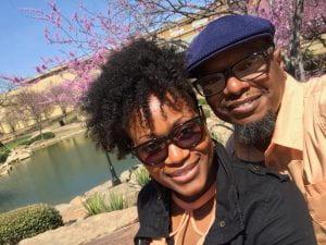 Photograph of Kayla's parents