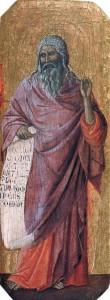Isaiah - Duccio
