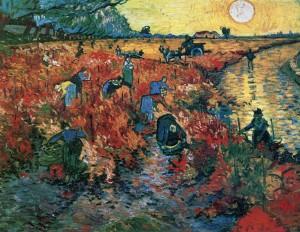 Red Vineyard - Van Gogh