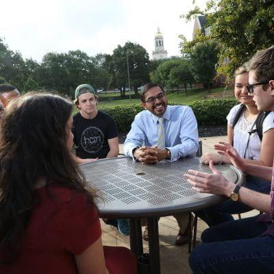 Rishi Sriram and students