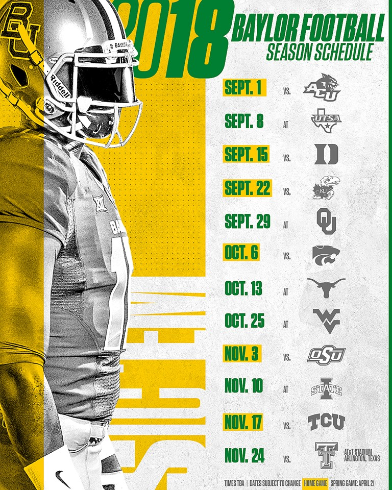 Football Releases 2018 Schedule –