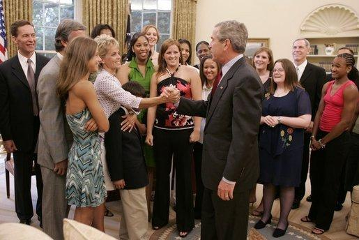 This week in Baylor history: The Lady Bears meet the President