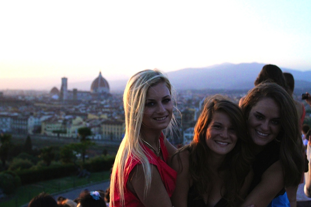 Baylor study abroad: Monica Lake in Italy