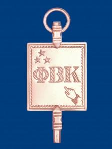 PBK Key Blue Background