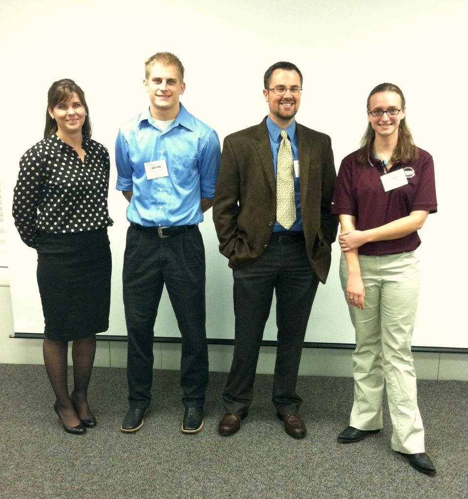 Student geologist wins award for research