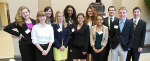 Model UN team Howard Payne 2014 copy 2