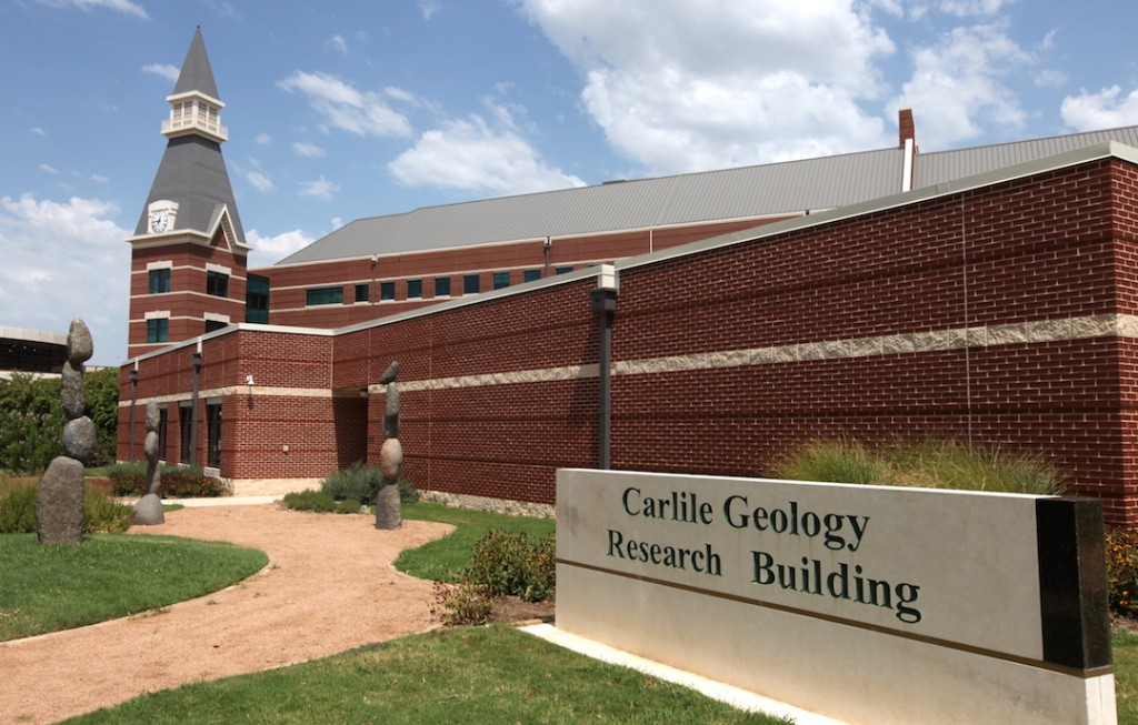 Baylor geology department changes name