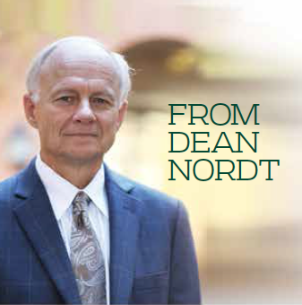 Baylor Arts & Sciences magazine: Dean's letter Fall 2018