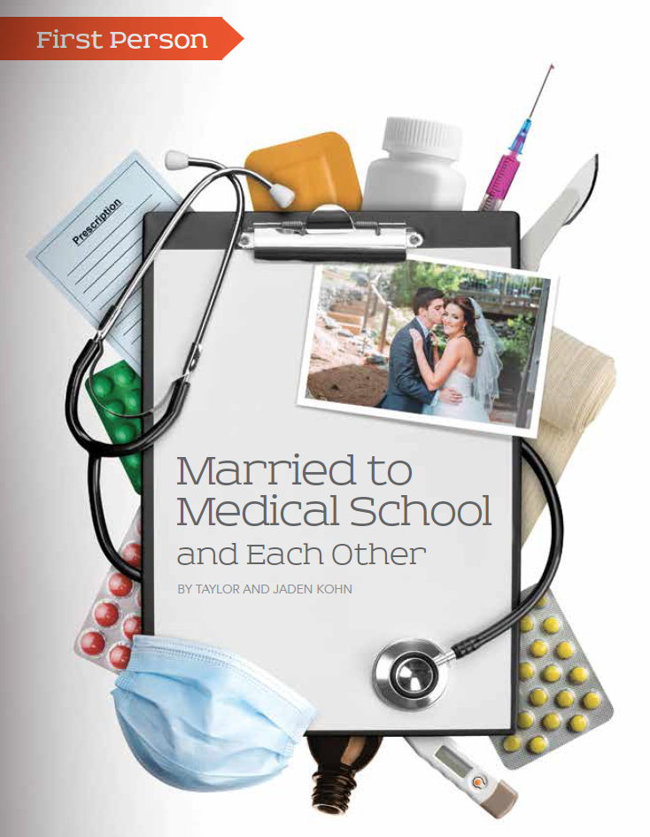 Baylor Arts & Sciences magazine, Fall 2015: Married to Medical School -- and Each Other