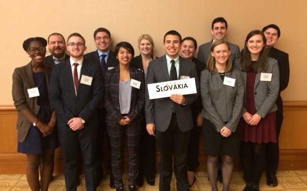Baylor Model UN students shine at Chicago conference