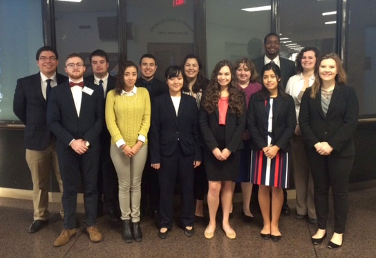 Baylor Model United Nations team represents five countries at state conference