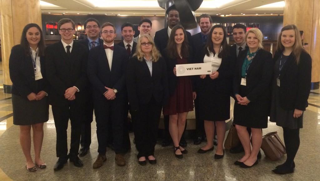 Baylor Model United Nations team is named Outstanding Delegation at national conference