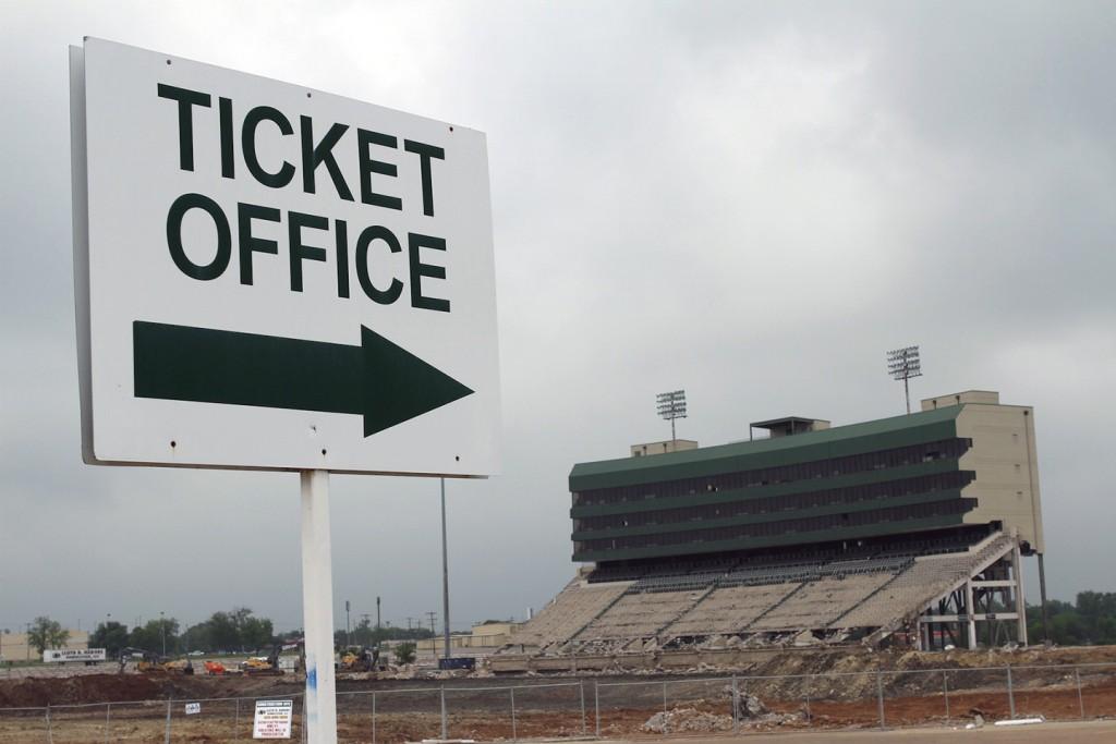 Floyd Casey Stadium: Demolition update