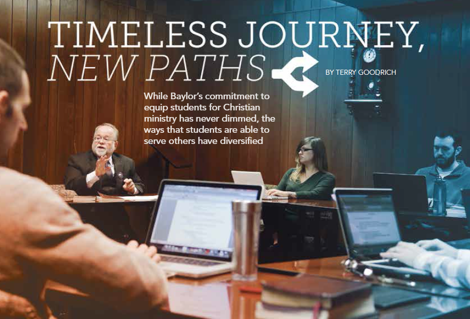 Baylor Arts & Sciences magazine, Spring 2016: Timeless Journey, New Paths
