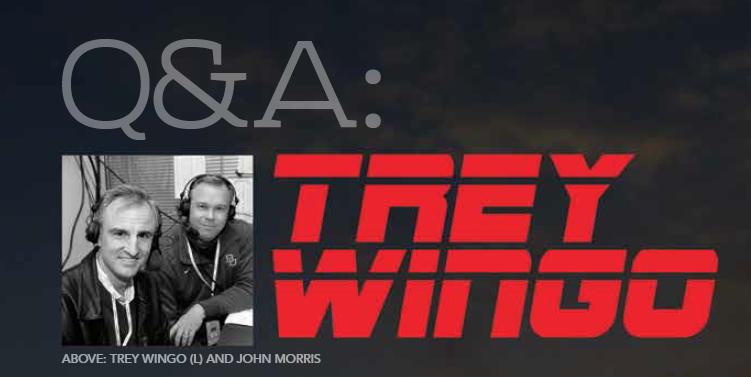 Baylor Arts & Sciences magazine, Spring 2016: Q&A with ESPN's Trey Wingo