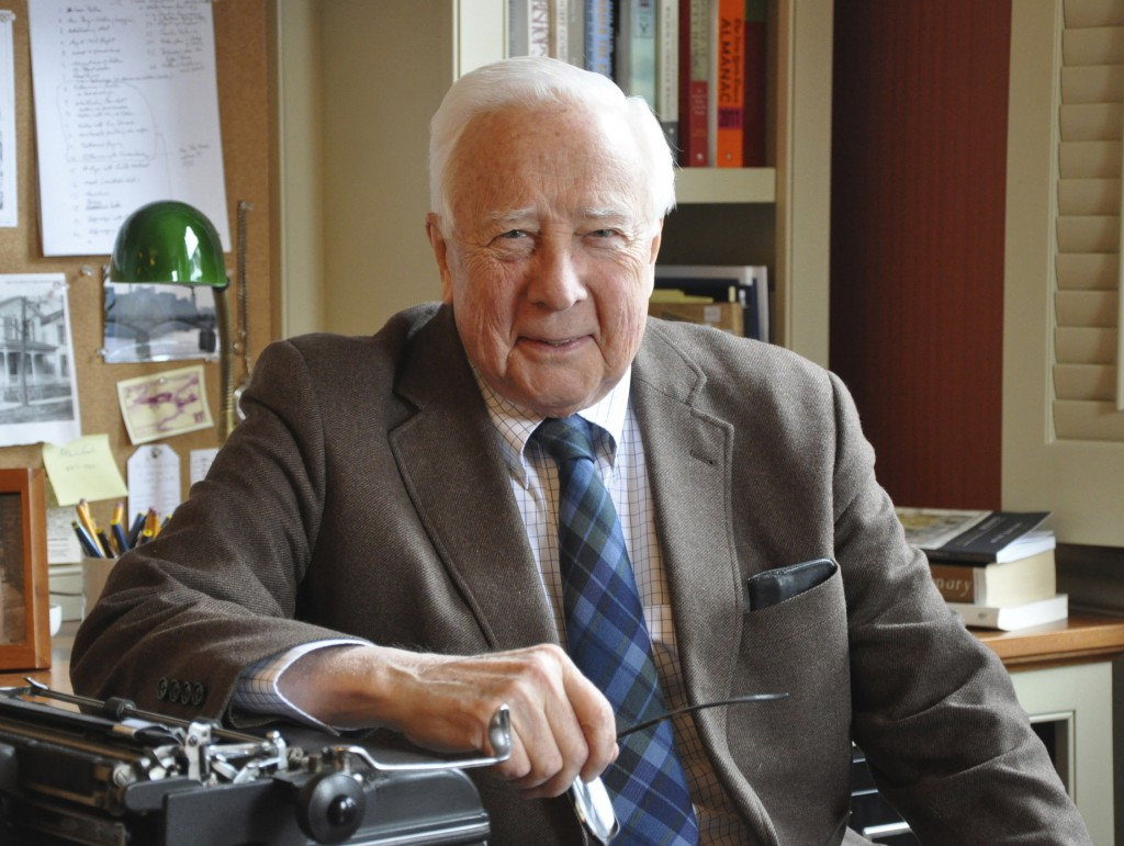 A conversation with historian David McCullough