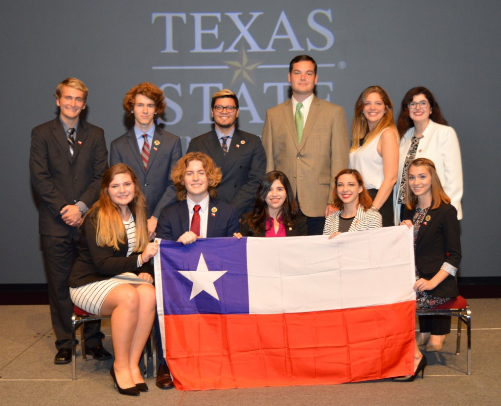 Baylor Model Organization of American States team wins high honors representing Brazil and Chile at recent meet