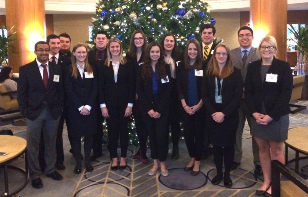 Baylor students selected as Outstanding Delegates at Model United Nations conference in Chicago