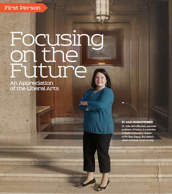 Baylor Arts & Sciences magazine: Focusing on the Future