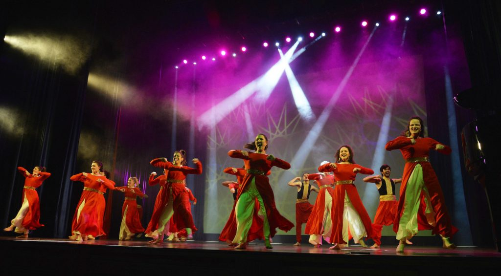 Baylor theatre students are sharing their faith and opening doors in India