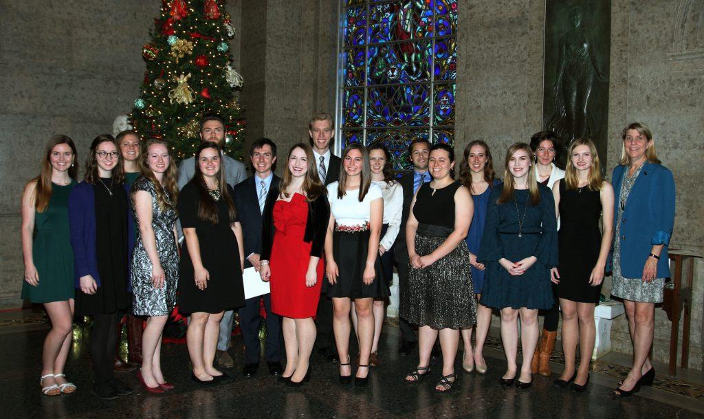 Baylor's Phi Beta Kappa Chapter Welcomes New Members
