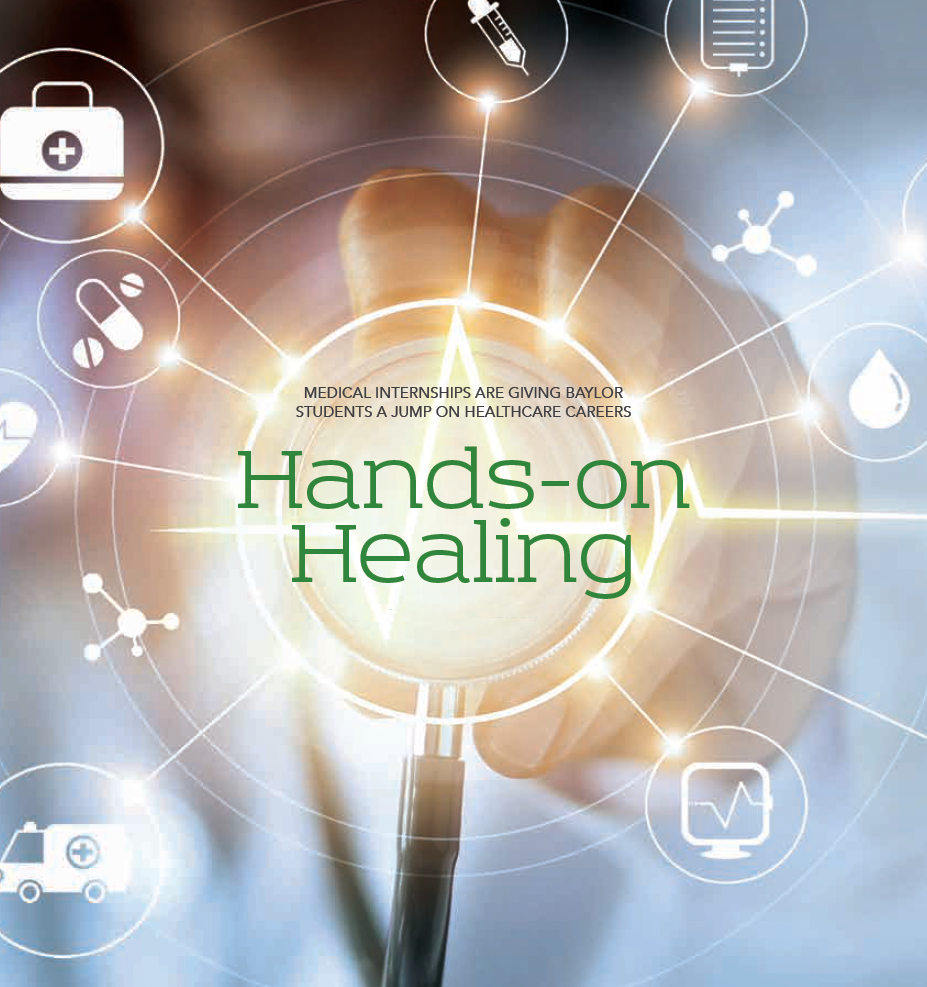 Baylor Arts & Sciences magazine: Hands-on Healing