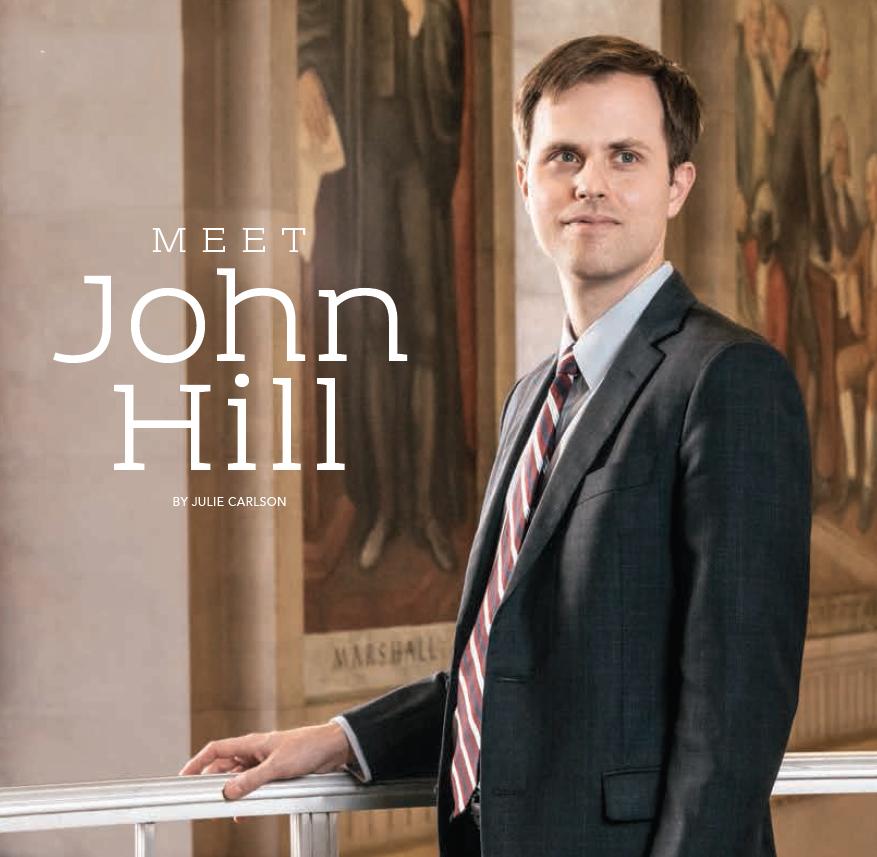 Baylor Arts & Sciences magazine: Meet John Hill