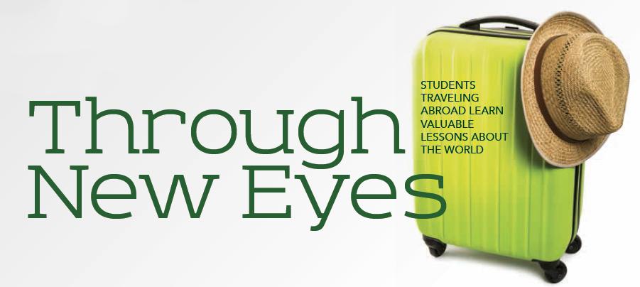 Baylor Arts & Sciences magazine: Through New Eyes