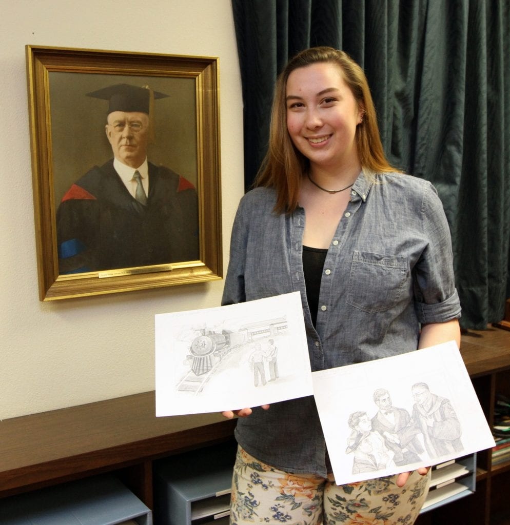 Baylor Art Student Brings a Poem to Life (Part II)
