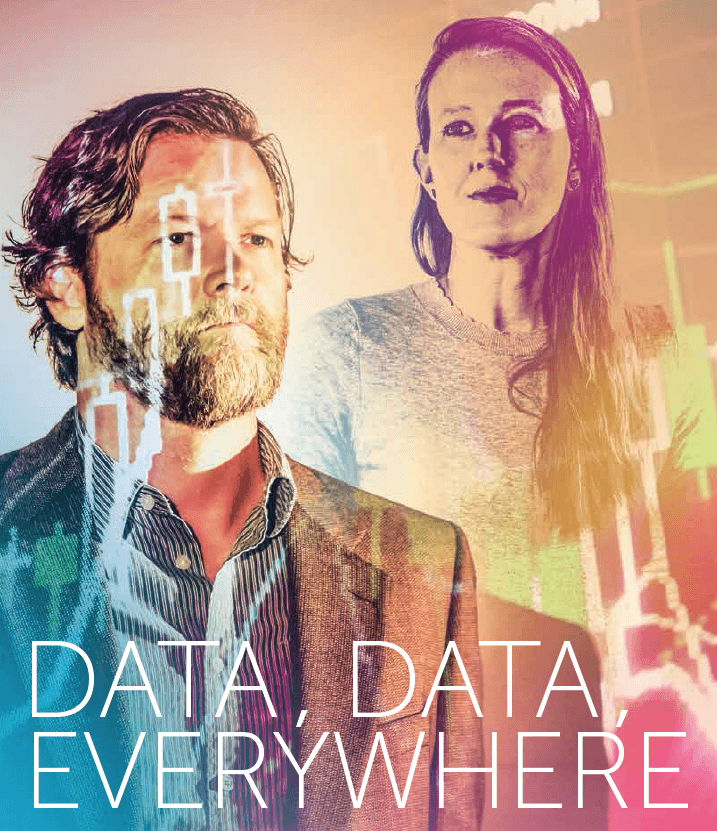 Baylor Arts & Sciences magazine: Data, Data Everywhere