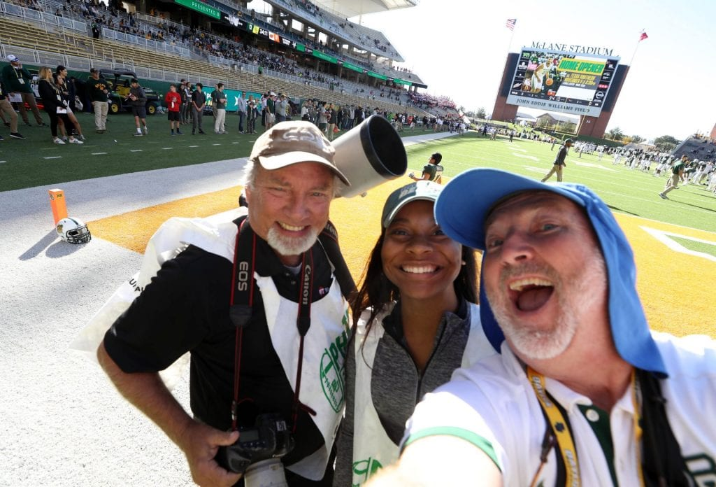 Homecoming Heroes: Two Educators whose Photos Capture Baylor's Most Spirited Traditions (Part II)