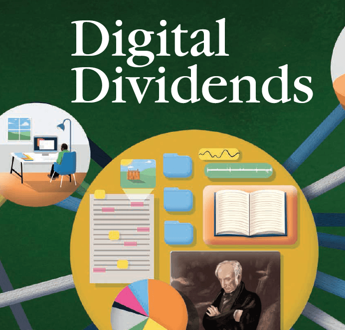 Baylor Arts & Sciences magazine: Digital Dividends
