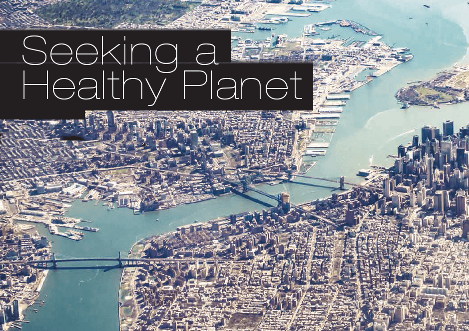 Baylor Arts & Sciences magazine: Seeking a Healthy Planet