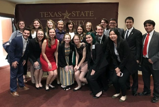 Baylor Model OAS team wins honors at international competition