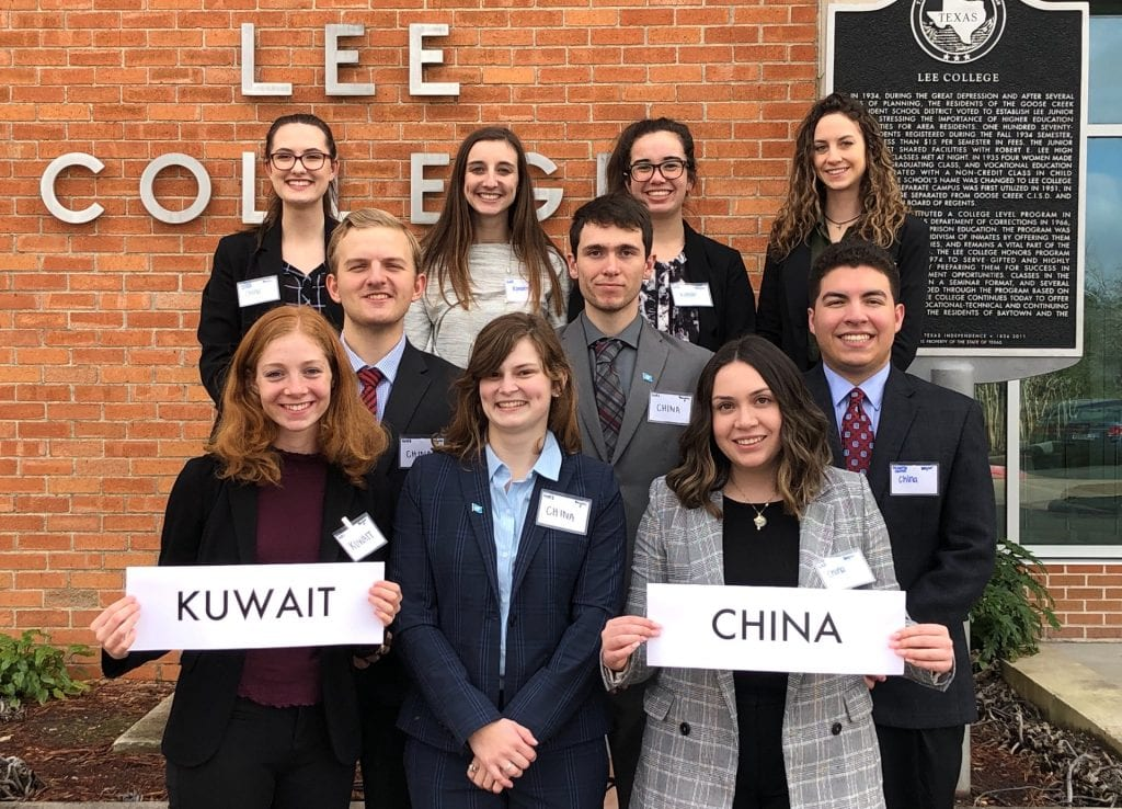Baylor Model United Nations team shines at Texas conference