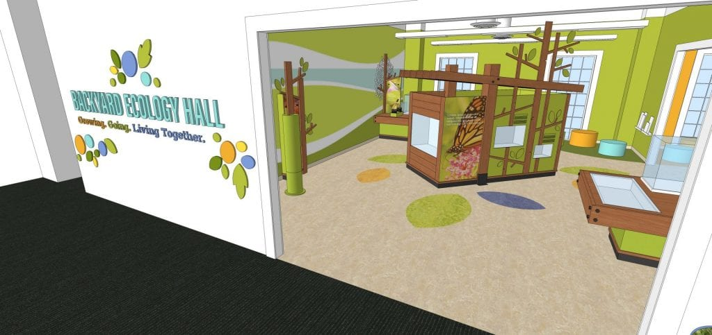 The Mayborn Museum's new Backyard Ecology Hall will offer a hands-on introduction to local ecosystems