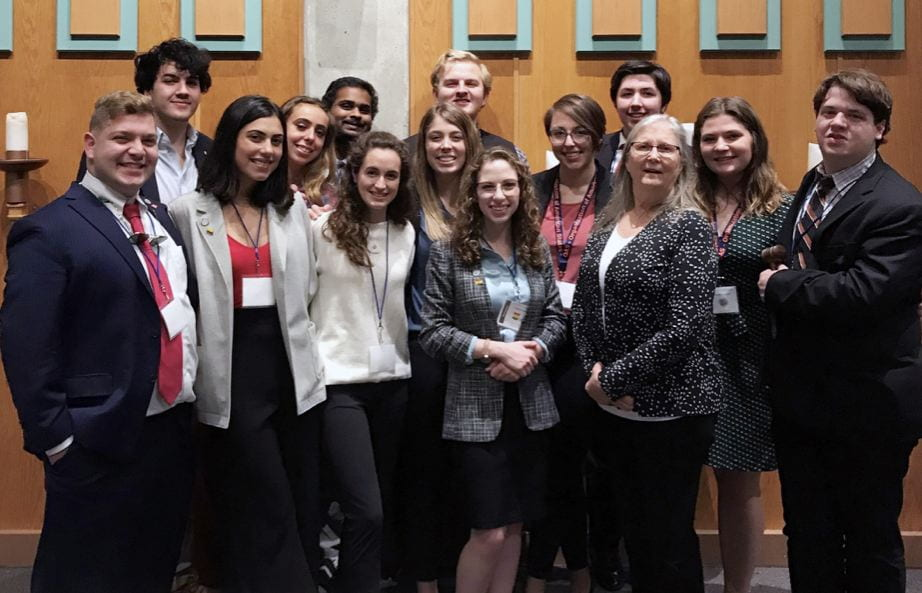Baylor's Model Organization of American States team excels at international conference