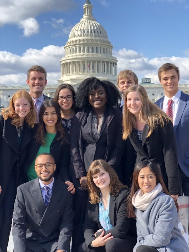 "Baylor Model UN named an ""Outstanding Delegation"" in DC conference"
