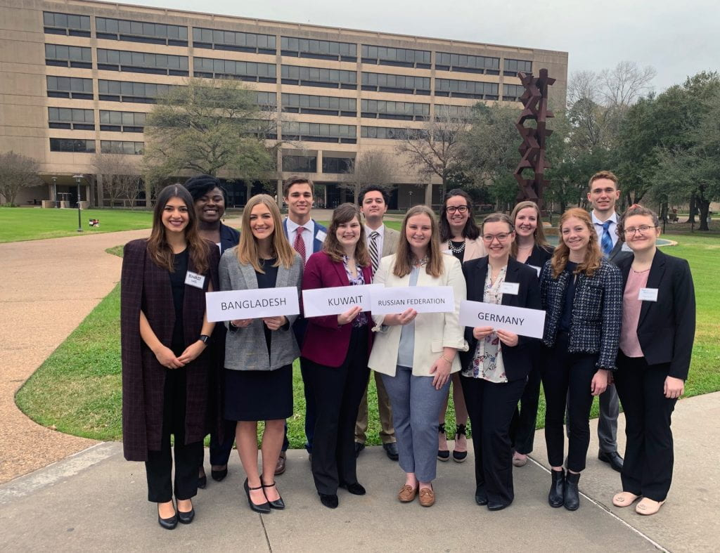 Baylor wins outstanding delegation awards at Texas Model United Nations conference