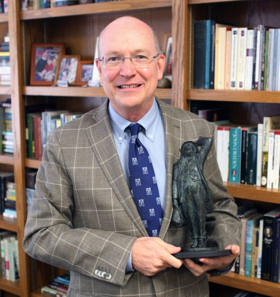 Baylor's Kevin Gardner wins the 2020 Betjeman Society Award