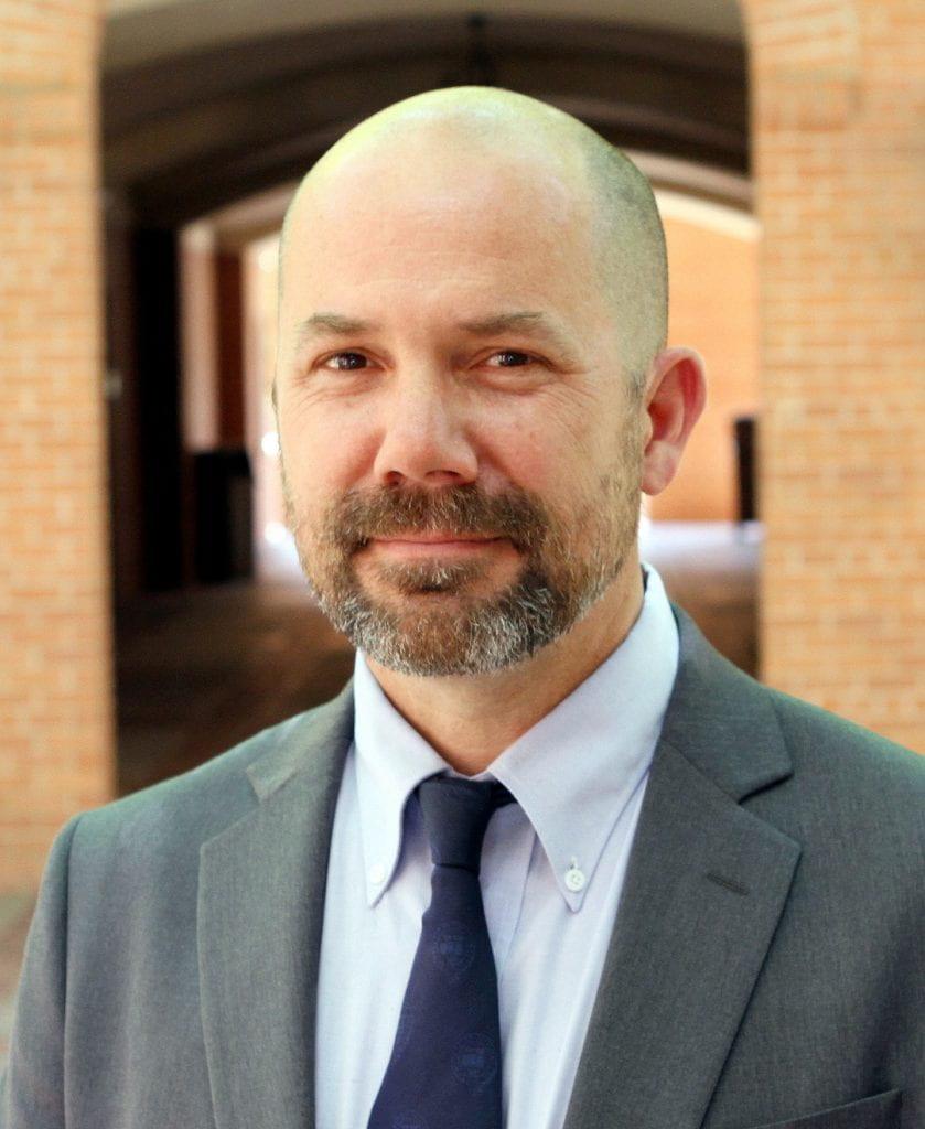 Arts & Sciences associate dean Brian Raines appointed Baylor Faculty Regent