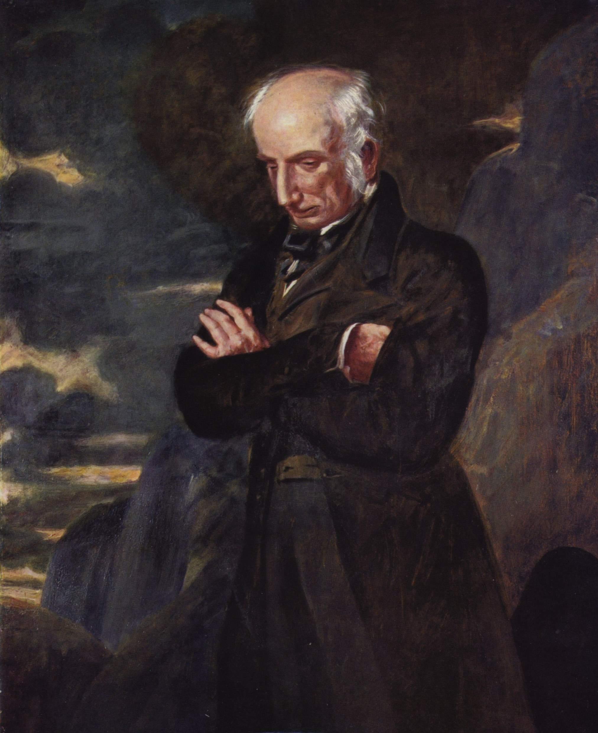 Portrait of Wordsworth by Benjamin Robert Haydon